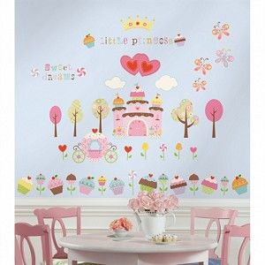 Happi Cupcake Land Kids Wall Decals