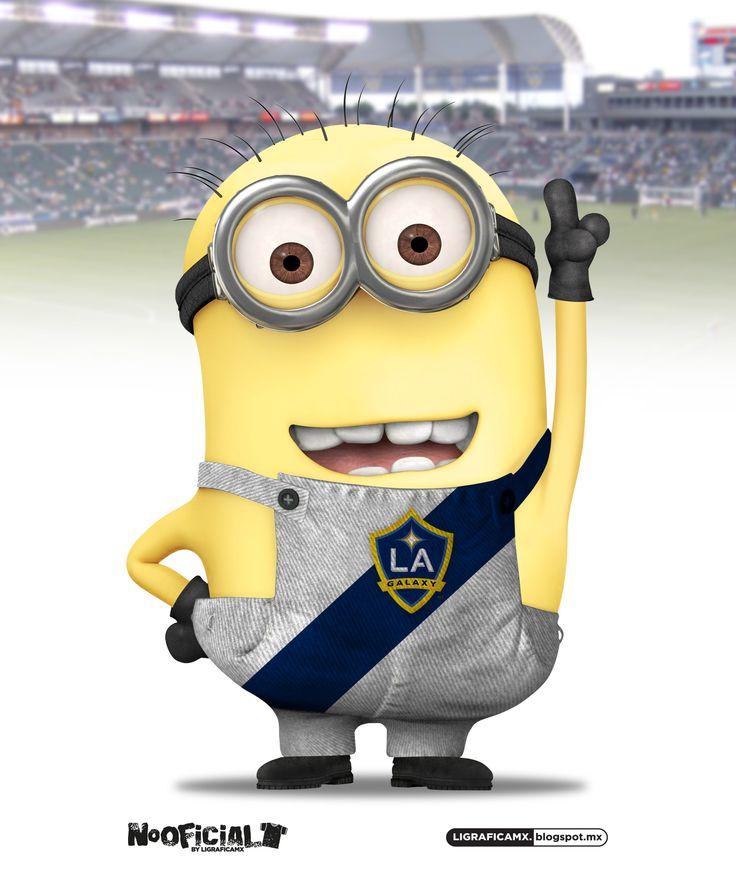 #Soccer #Minion #NoOficial #LigraficaMX @LA Galaxy