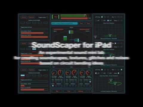 Motion Soundscape: SoundScaper - An experimental sound mini lab