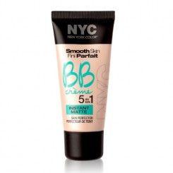 NYC Smooth Skin BB Cream Instant Matte, Medium