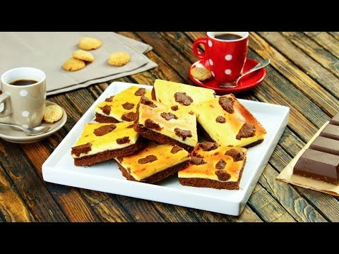 Waarom saaie brownies bakken als je deze bonte vierkantjes kunt bereiden? Van die gezellige koeienvlekken word je op slag vrolijk!
