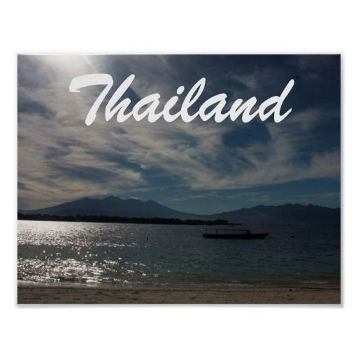 Beach In Thailand Poster