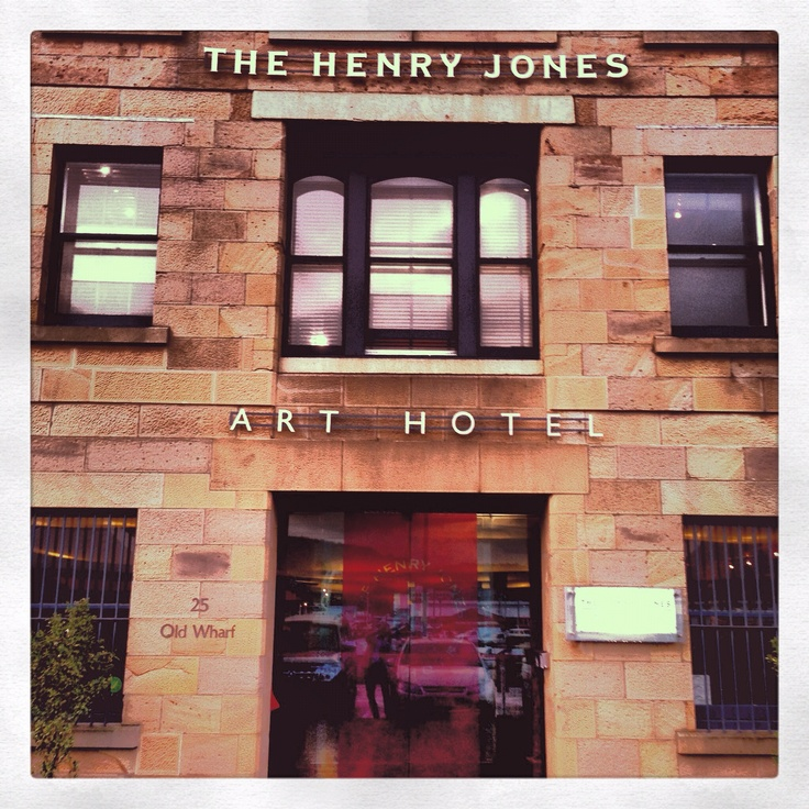 Favourite boutique hotel Henry Jones Art Hotel Hobart