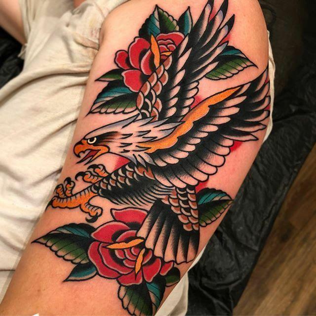 Bald Eagle Tattoo For Women Feminine Eagle Tattoo For Women Feminine Bald Eagle Tattoos Traditional Eagle Tattoo Eagle Tattoos