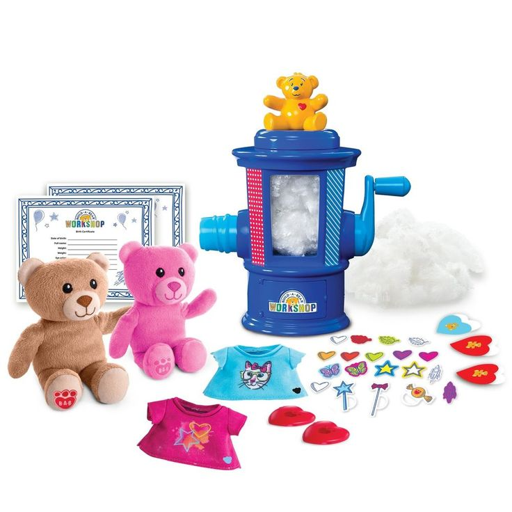 Build-A-Bear Workshop Stuffing Station by Spin Master #BuildABear