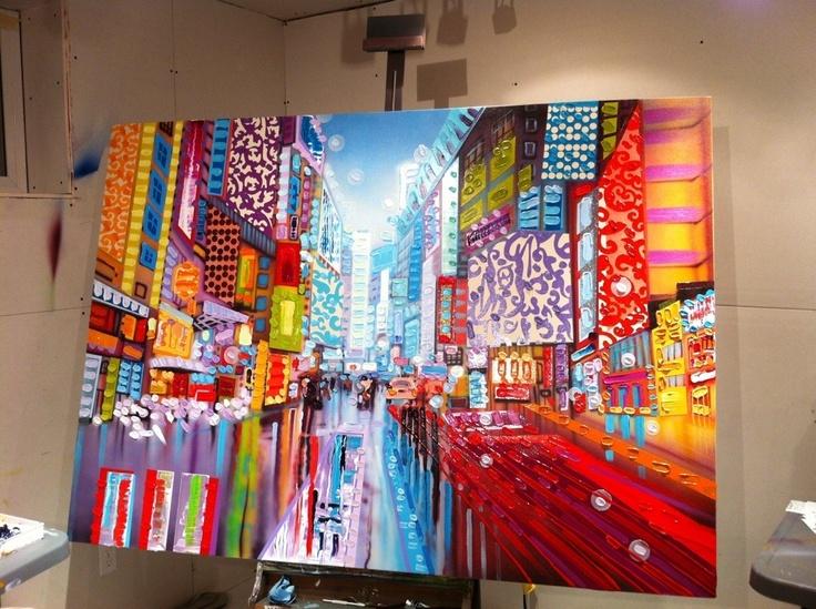Sheila Kernan Art... I absolutely adore her style.