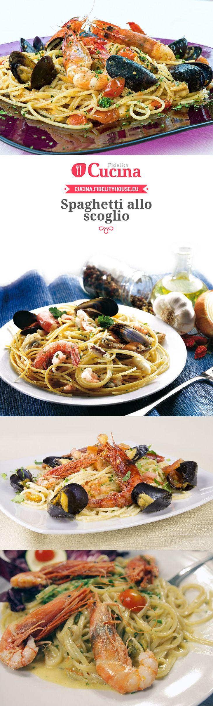 Ricetta spaghetti allo scoglio