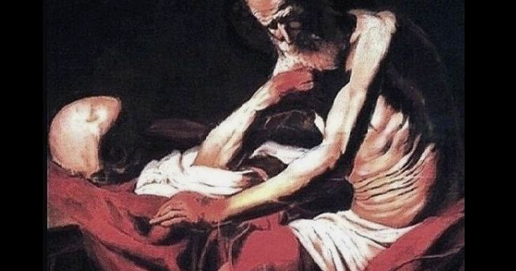 falsario Caravaggio-Saint Jerome