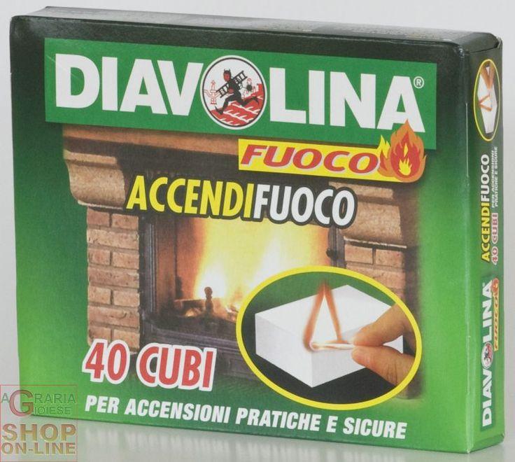 DIAVOLINA ACCENDIFUOCO 40 CUBETTI ART.15300 https://www.chiaradecaria.it/it/accessori-per-barbecue/5098-diavolina-accendifuoco-40-cubetti-art15300-8002840153009.html