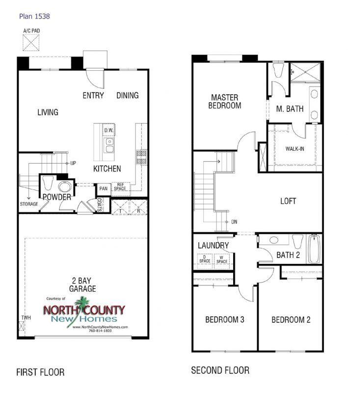 Solara At Skyline New Townhomes In Vista Floor Plans Condo Floor Plans How To Plan
