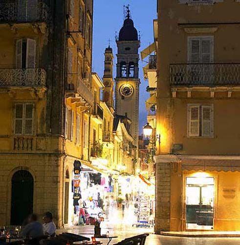 Night in Corfu