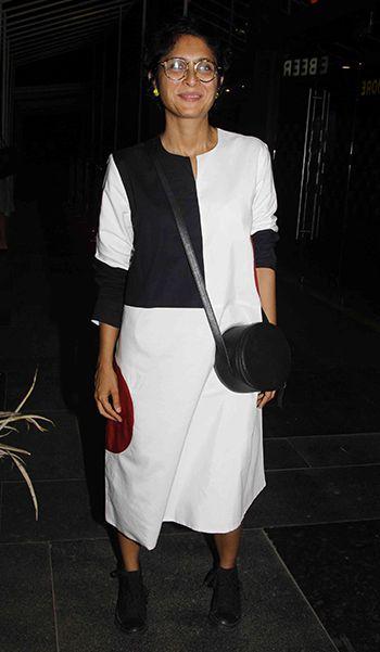 Kiran Rao in a Lovebirds dress
