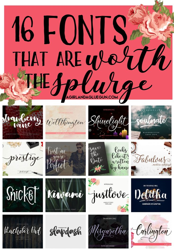Fonts that are worth the splurge 44