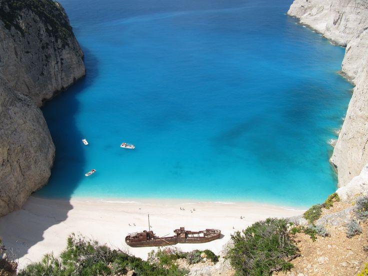 Navagio beach, Zakinthos island, Greece #Zakinthos #Navagio