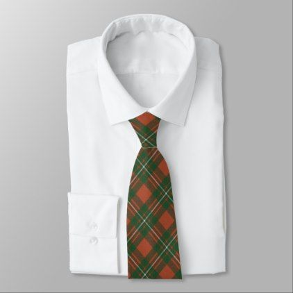 MacGregor Ancient Original Scottish Clan Tartan Tie - original gifts diy cyo customize