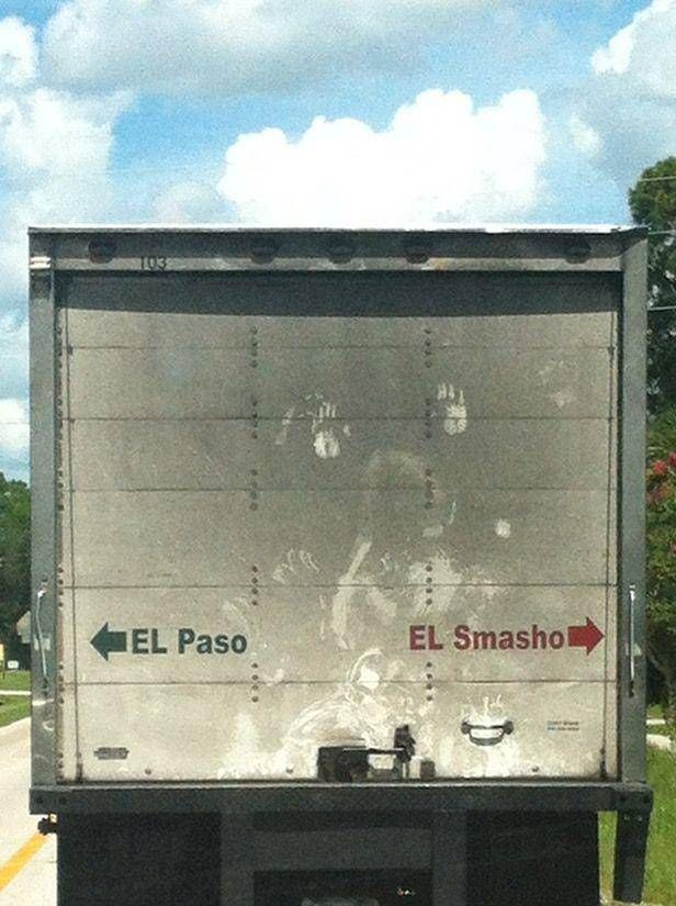 Funny Trucker Signs