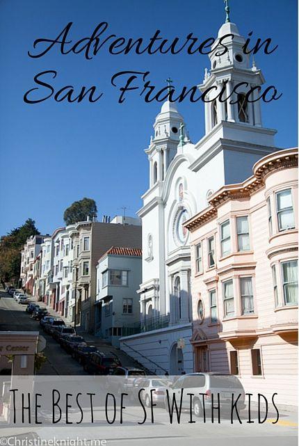San Francisco with Kids via christineknight.me