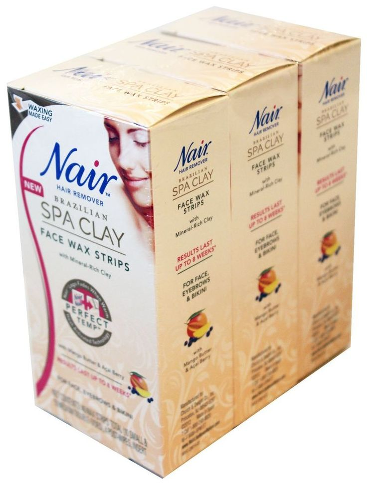 how to use nair wax strips