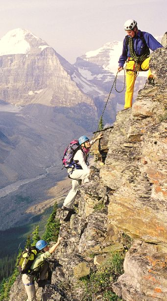 Take your excursions to the next level while mountain climbing in #Canada.