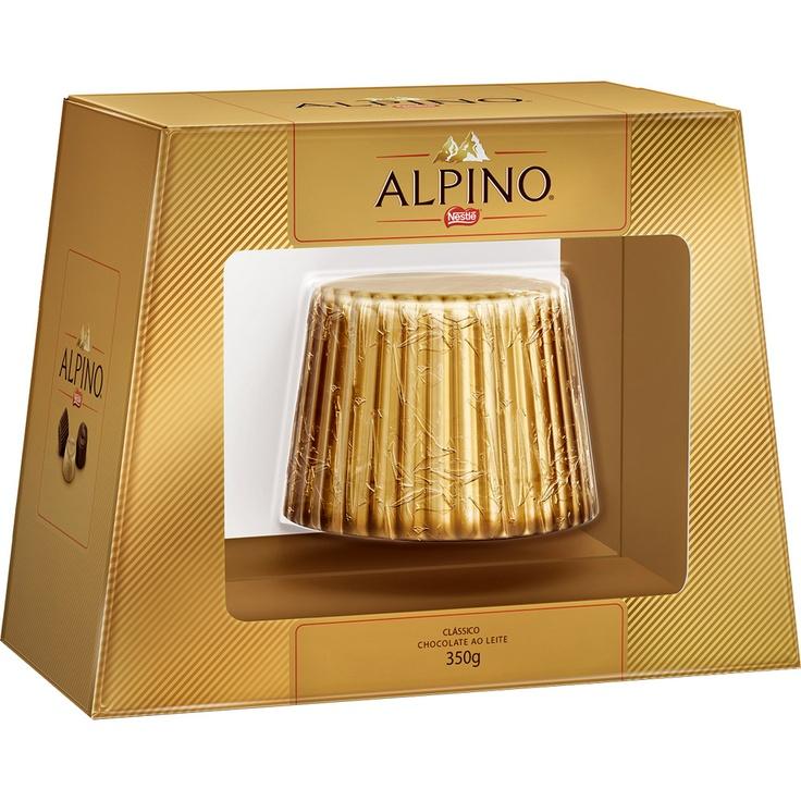 Ovo de Pascoa Alpino Ao Leite 350g N 20 Nestle