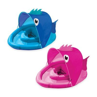 Aqua Leisure® Fabric Covered Fun Fish Baby Float - buybuyBaby.com