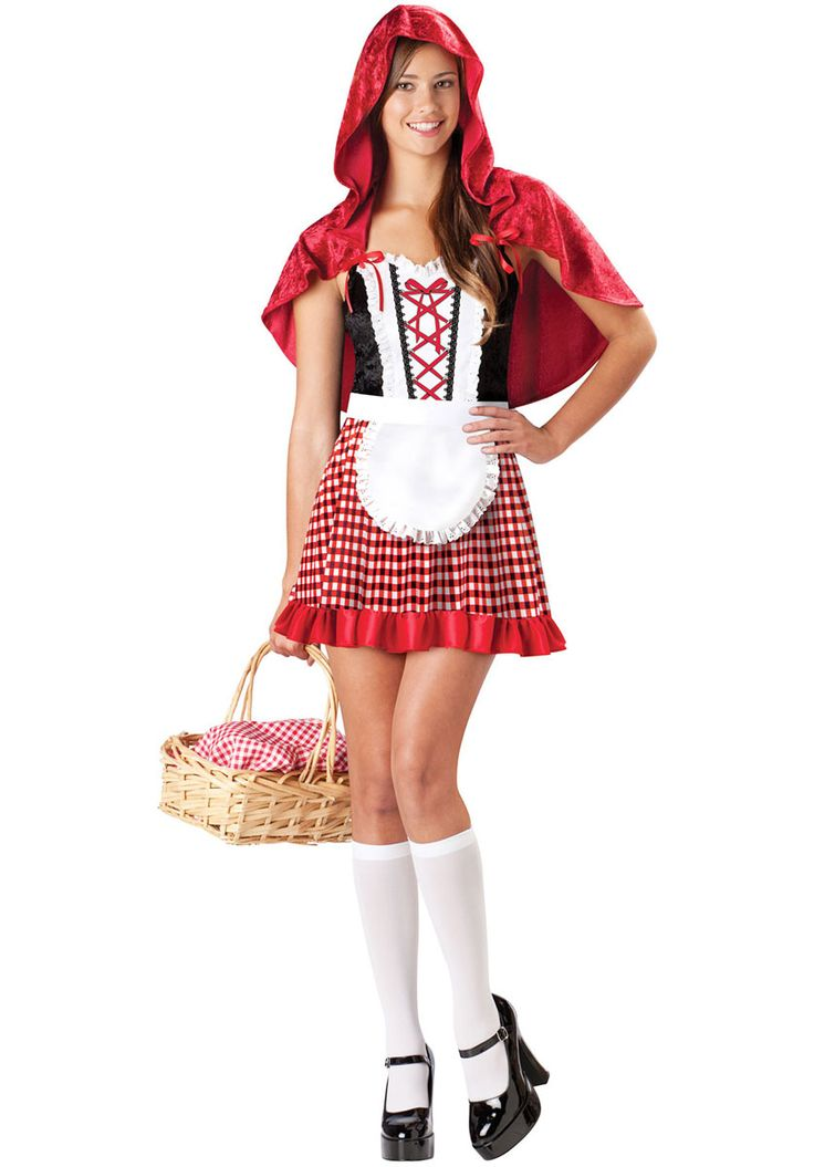 red riding hood costume teen red riding hood costumes at escapade uk teen costumescute halloween - Cool Halloween Costumes For Teenagers