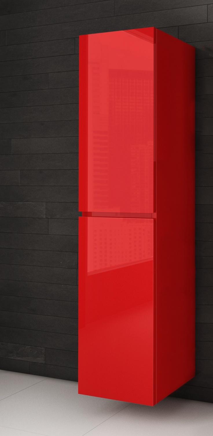 Lingerie salle de bain rouge - AQUAMOBILIA. Disponible chez Montréal - Les - Bains