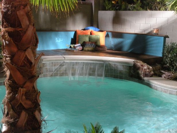 20 best pool ideas images on pinterest backyard ideas garden ideas and small backyard pools - Awesome small swimming pools designs to refresh backyard area ...