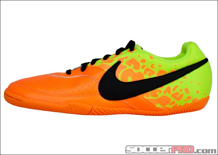 Nike Fc247 Elastico Ii Indoor Soccer Shoes Bright Citrus