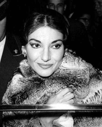 Maria Callas, 1958 ~ what a voice!!!!!