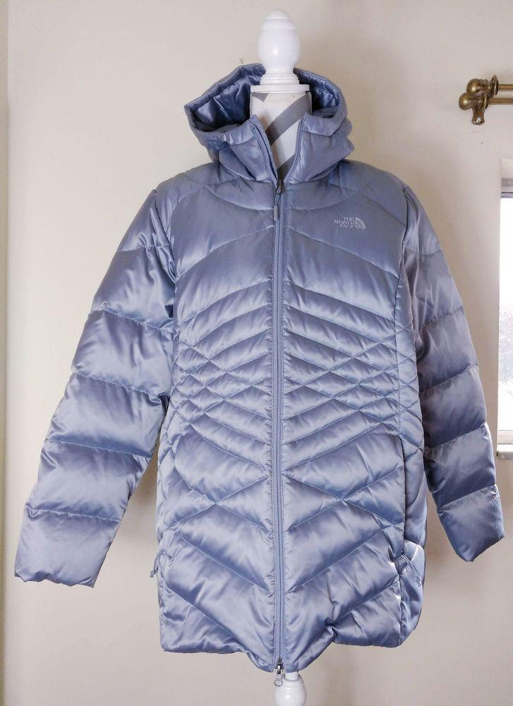 cc77fd594b North Face Women s Aconcagua 550 Down Jacket Coat XXL Asphalt Silver New  without tags