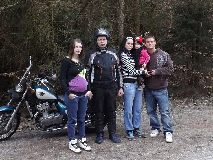 S rodinou na cestě do Dalešic
