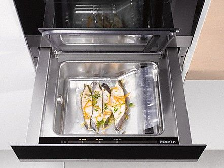 Portion control is essential for reducing food waste, and the Miele Sous Vide Vacuum Sealing Drawer allows you to purchase in bulk but separate produce so nothing is wasted