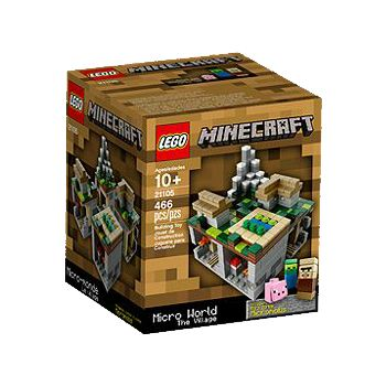 LEGO Minecraft Expanded... The Village (21105) & The Nether (21106 ...