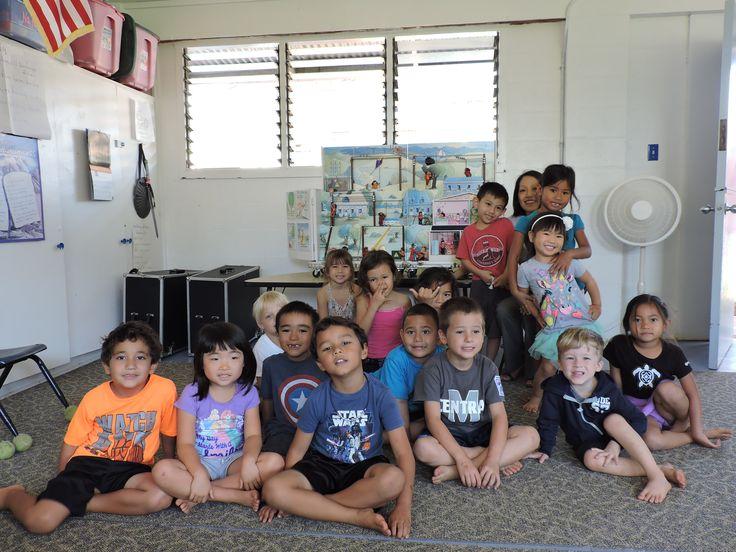 Mahalo to Wailuku Union Preschool for inviting our Maui