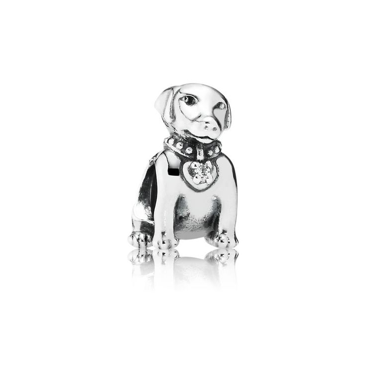 PANDORA Dog Charm | Special price: £23.98 | Buy now: http://www.pandorasale2012.com/pandora-dog-charm-791379cz.html