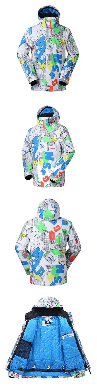Gsou Snow Men's Ski Jackets  On Sale