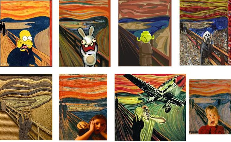 More Munch Screaming! « Artsology | An arts blog | Art musings, found art, news, and other art-related items of interest