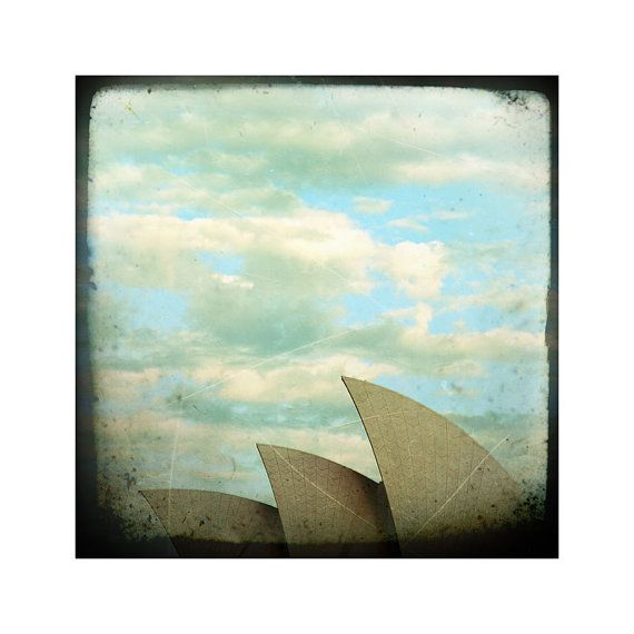 Three sails of the opera house