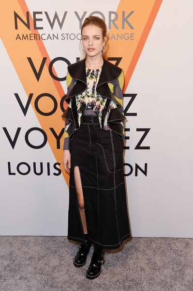 ☆Natalia Vodianova attends the Volez, Voguez, Voyagez - Louis Vuitton Exhibition Opening on October 26, 2017 in New York City.