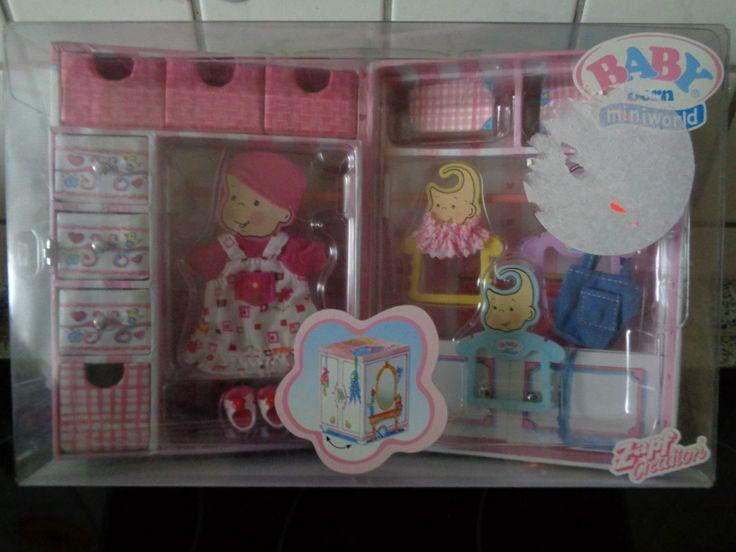 Zapf Creation 766859 - BABY BORN MINIWORLD Garderobenschrank NEU in Spielzeug, Puppen & Zubehör, Babypuppen & Zubehör | eBay!