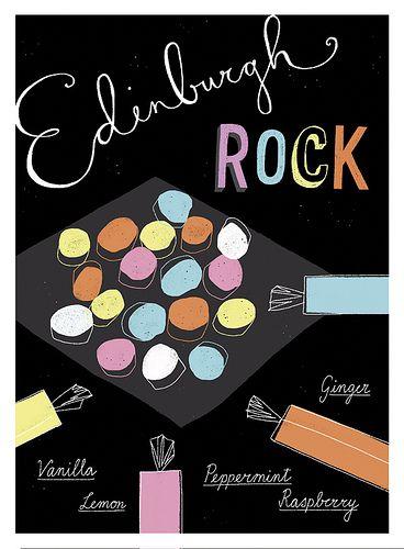 Edinburgh Rock Recipe Card | Flickr