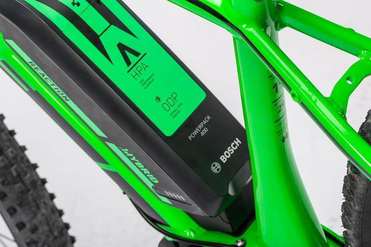 "Cube Reaction Hybrid HPA SL 500 29"" Hardtail Electric MTB Bike 2016"