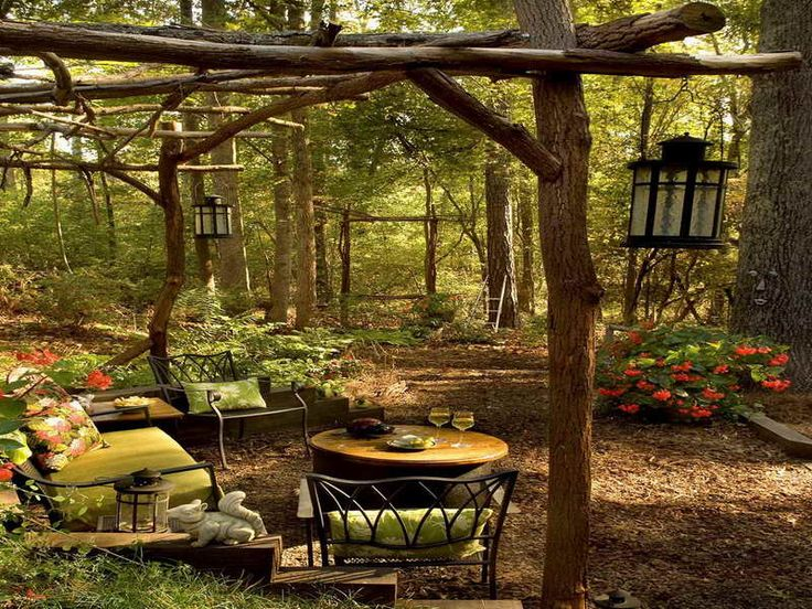 Outdoor Patio Ideas On A Budget | Outdoor Rooms on a Budget with garden