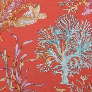 Hertex Fabrics Design: Sea Flora Burnt