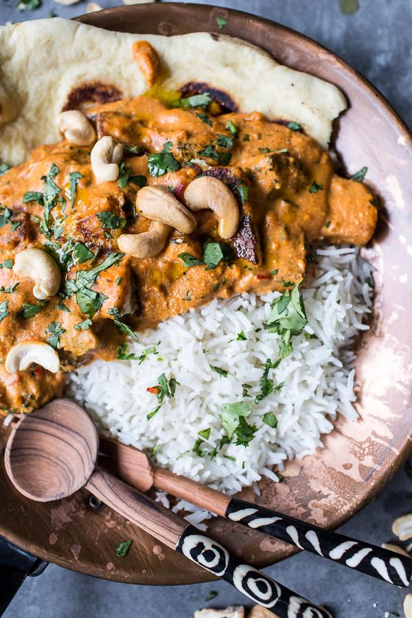 Creamy Cashew Indian Butter Paneer