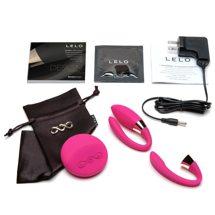 Lelo Tiani 2 Cerise (contents included)  Made from soft, flexible silicone it adds a fantastic option in bedroom play, bringing increased stimulation and more stability to even the most adventurous positions. 8 Stimulation Modes (2 SenseMotion™ / 6 Standard Control)