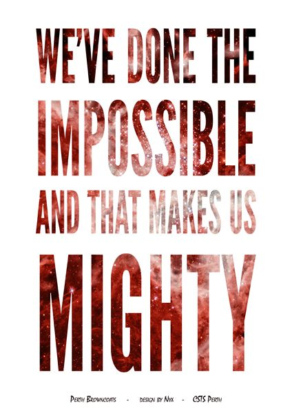 Firefly/Serenity Quote Poster Design: Done The Impossible (Mal) Design by Nyx