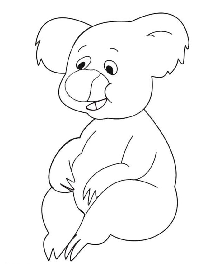 Free Printable Koala Coloring Pages For Kids Bear Coloring Pages Cinderella Coloring Pages Animal Coloring Pages