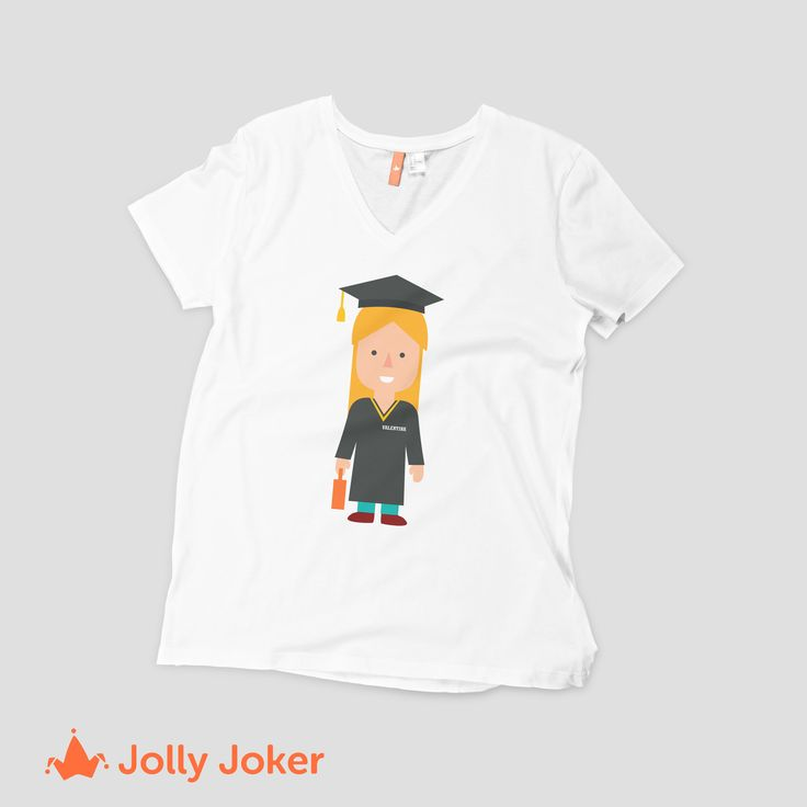 ¡El año de tu graduación! Haz de este día aun más importante. ¿Que tal unas camisetas personalizadas para tu grupo de amigos con los que te vas a graduar? Diseñalas como tu quieras